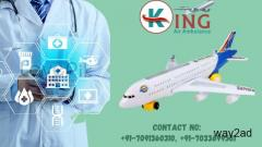 King Air Ambulance Service in Patna with Round the Clock Availability