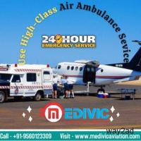 The Convenient Charter Air Ambulance Services in Delhi by Medivic