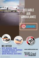 India Best Air Ambulance Services in Guwahati by Medivic