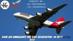King Air Ambulance Service in Delhi with 24/7 Emergency Availability