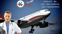 King Air Ambulance Service in Bangalore with Hi-Tech Medical Amenities