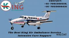 Just Call King Air Ambulance Service in Bhopal for Safe Shifting