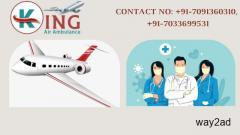 Advanced Air Ambulance Service in Patna at Reasonable Cost from King