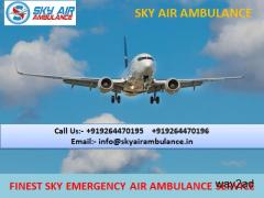 Take Instant ICU Facility Air Ambulance Service in Chandigarh