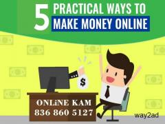 ONLINE PROMOTIONAL WORK WITH ONLINE KAM
