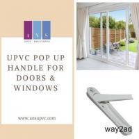 ANS UPVC Solution Provider of High Quality UPVC Handles in India