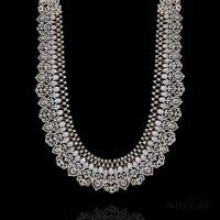 CZ Long Haram Necklace designs