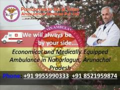 Economical and Medically Equipped Ambulance in Naharlagun