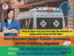 Well Grounded Patient Transfer Ambulance Service in Kohima, Nagaland