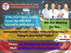 Immediate patient transfer ambulance service in Itanagar