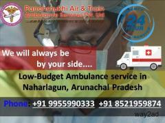 Low-Budget Ambulance service in Naharlagun by panchmukhi