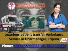 Luxurious patient transfer ambulance service in Dharmanagar