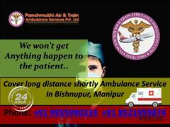 Cover long distance shortly Ambulance Service in Bishnupur, Manipur