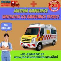 Cardiac Ambulance Service in Gaya, Bihar by Jansewa