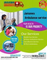 Hi-Tech Ambulance Services from Bhagalpur, Bihar by Jansewa