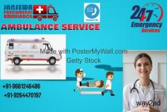 Quick Care Ambulance Service in Railway Station, Jharkhand by Jansewa