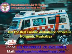 Get the Best Cardiac Ambulance Service in Nongpoh, Meghalaya