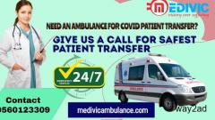 Medivic Ventilator Ambulance Service in Tapasya, Kolkata