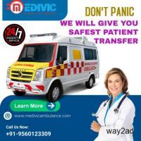 Hire Hassle- Free Ambulance Service in Salt Lake, Kolkata by Medivic