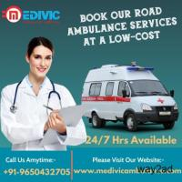 Basic Health Care Ambulance Service in Tollygunge, Kolkata by Medivic