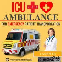 Medical Equipped Ambulance Service in Dum Dum, Kolkata by Medivic