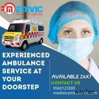 Medivic Ambulance Service in Kolkata, West Bengal with ICU setup