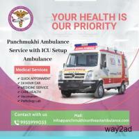 Rapid Ambulance Service in Indranagar, Tripura by Panchmukhi