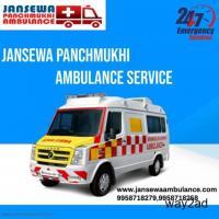 Hi-tech Emergency Ambulance Service in Camac Street, Kolkata by Jansewa