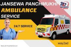 Rapid Relief Ambulance Service in Kasba, Kolkata by Jansewa Panchmukhi