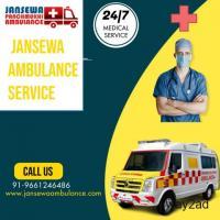 Best Ambulance Service in Kona Express Way, Kolkata by Jansewa