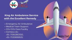 King Air Ambulance Service in Dehradun with Highly Developed Amenities