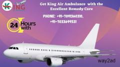 King Air Ambulance Service in Dimapur for Immediate Relocation