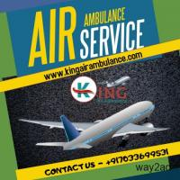 Get Medication Help in the Air Ambulance Service in Gaya by King