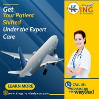 Highly Obtainable Air Ambulance Service in Hyderabad from King