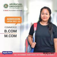 Arunachal University Admission opens for the academic year 2021-22