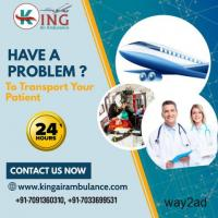 King Air Ambulance Service in Hyderabad with Admirable Med Team