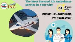 King Air Ambulance Service in Dehradun with Sustainable Medical Tools