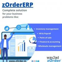 ERP software for controlling business.