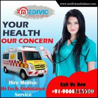 Hassle Free Ambulance Service in Samastipur, Bihar by Medivic