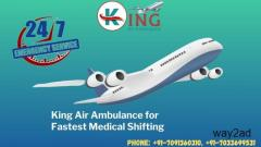 Patient Transfer from King Air Ambulance Service in Bagdogra