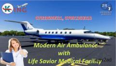 Get Evolve Emergency Care by King Air Ambulance from Kolkata