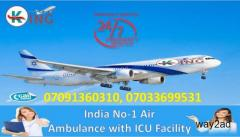 Take Top-Raking Exigency Air Ambulance Service in Mumbai by King