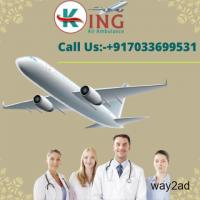 Avail Significant Transferring by King Air Ambulance Service in Gaya