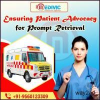 Swift and Genuine Ambulance Service in Camac Street, Kolkata by Medivic