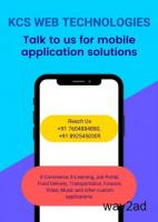 Mobile Applications from KCS Web Technologies