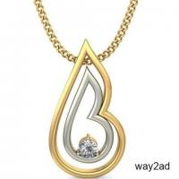 Latest Gold Pendant | Simple and Elegant | Best Prices