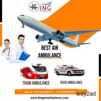 Affordable Air Ambulance Service in Dehradun with Superb Care by King