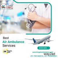 Hire King Air Ambulance Service in Delhi at Sufficient Price