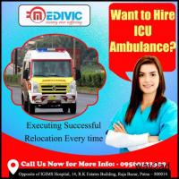 Medivic Ambulance Service in Patna with MD Doctor Support