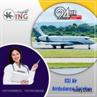 Pick Awesome ICU Care Air Ambulance Service in Bangalore by King